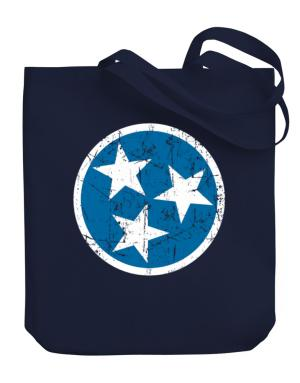 Tennessee Flag Canvas Tote Bag