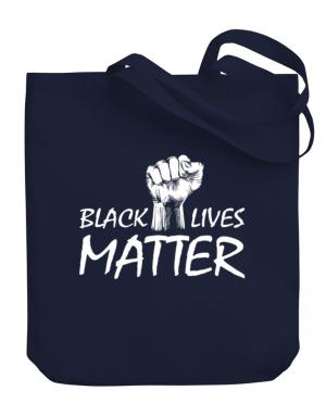 Black lives matter Canvas Tote Bag