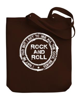 Bolso de I may be old but Rock and Roll