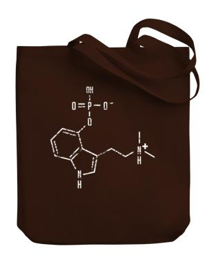 Psilocybin Chemical Formula Canvas Tote Bag