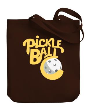Pickleball Canvas Tote Bag