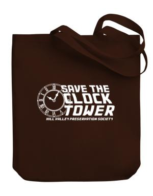 Save the clock tower Canvas Tote Bag