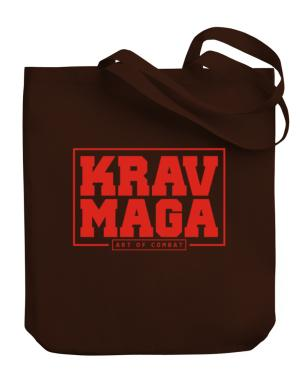 Krav maga art of combat Canvas Tote Bag