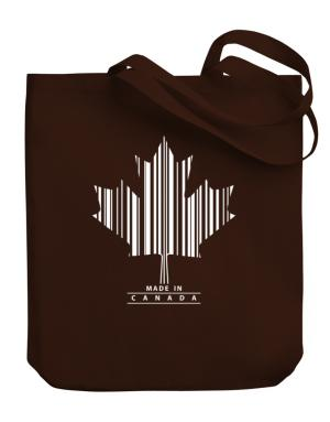Made in Canada Canvas Tote Bag