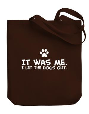 Bolso de It was me I let the dogs out