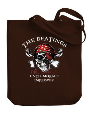 Bolso de The beatings will continue until morale improves!