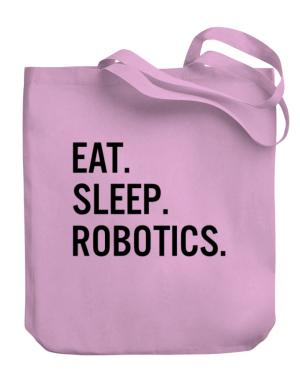 Eat sleep robotics Canvas Tote Bag