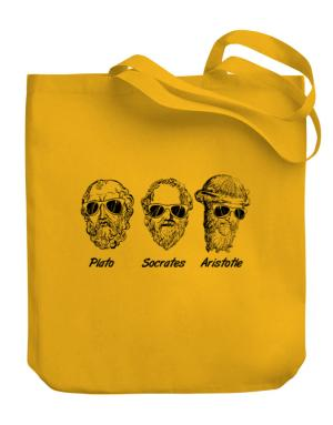 Socrates Old Funny Philosophy Canvas Tote Bag