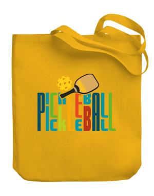 Pickleball fan Canvas Tote Bag