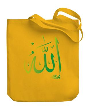 Allah arabic character Canvas Tote Bag