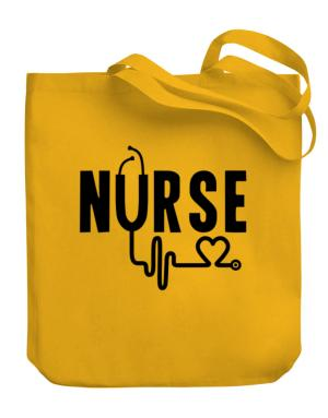 Nurse cool design Canvas Tote Bag