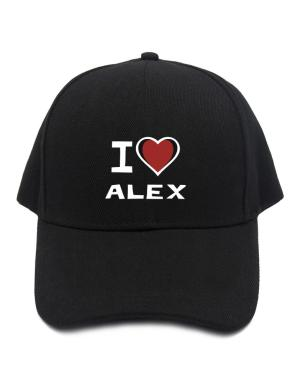 I Love Alex Baseball Cap