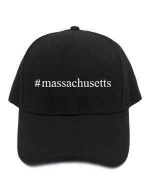 #Massachusetts - Hashtag Baseball Cap
