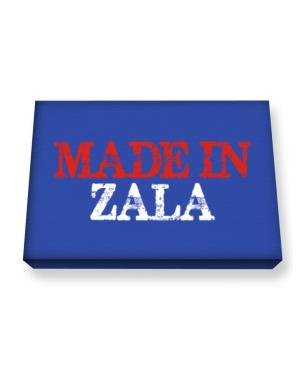 Made in Zala Canvas square