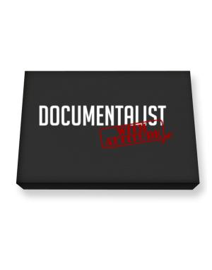 Documentalist With Attitude Canvas square