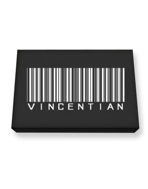 Vincentian Barcode / Bar Code Canvas square