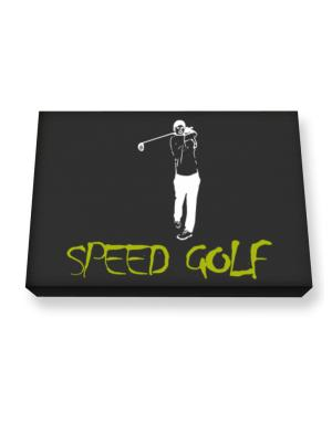 Speed Golf Canvas square