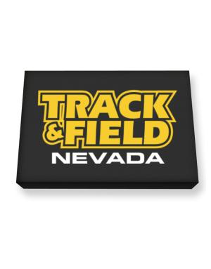 Track And Field - Nevada Canvas square
