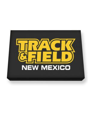 Track And Field - New Mexico Canvas square
