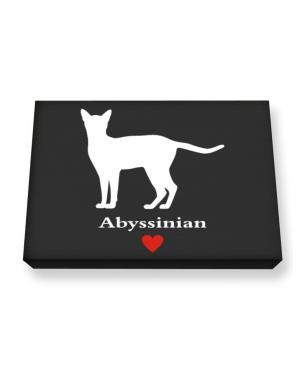 Abyssinian love Canvas square