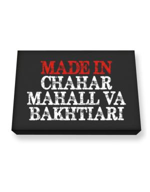 Made in Chahar Mahall Va Bakhtiari Canvas square