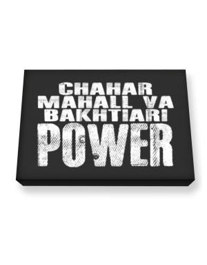 Chahar Mahall Va Bakhtiari power Canvas square
