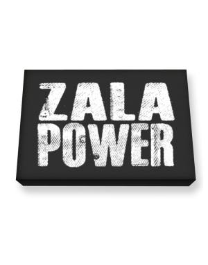 Zala power Canvas square