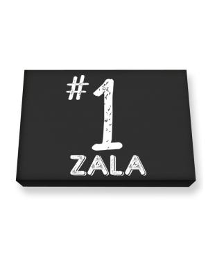 Number 1 Zala Canvas square