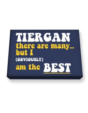 Tiergan There Are Many... But I (obviously) Am The Best Canvas square