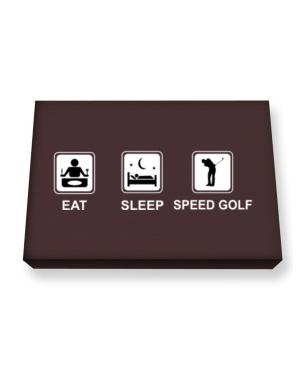 Eat sleep Speed Golf Canvas square