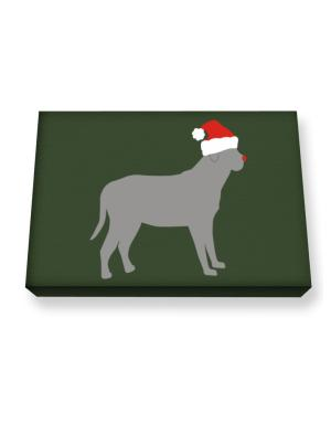 Broholmer christmas Canvas square