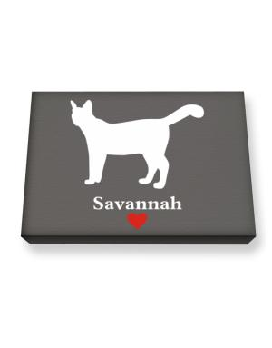 Savannah love Canvas square