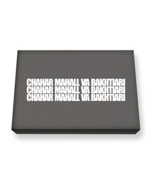 Chahar Mahall Va Bakhtiari three words Canvas square
