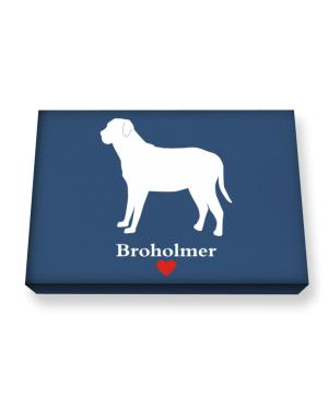 Broholmer love Canvas square