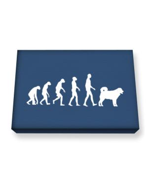 Wetterhoun evolution Canvas square