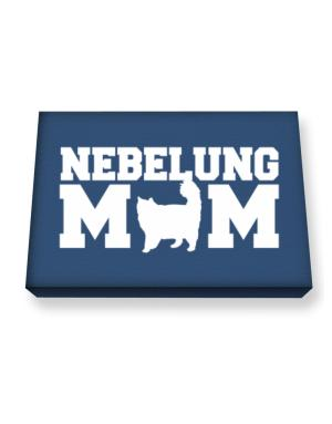 Nebelung mom Canvas square