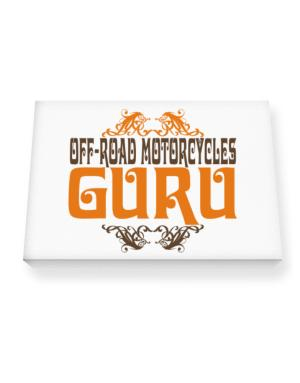 Off Road Motorcycles Guru Canvas square