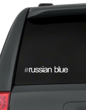 Hashtag Russian Blue Decal Pack