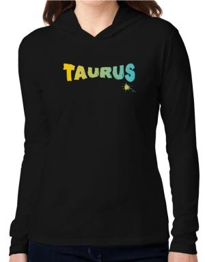 Taurus Hooded Long Sleeve T-Shirt Women