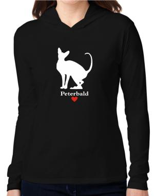 Peterbald love Hooded Long Sleeve T-Shirt Women