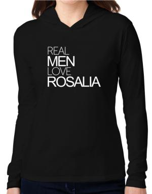 Real men love Rosalia Hooded Long Sleeve T-Shirt Women