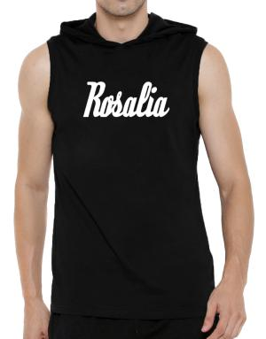 Rosalia Hooded Sleeveless T-Shirt - Mens