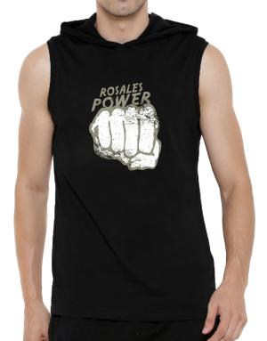 Rosales Power Hooded Sleeveless T-Shirt - Mens