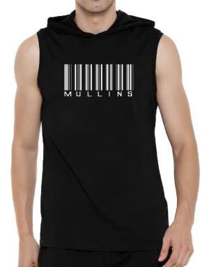 Mullins - Barcode Hooded Sleeveless T-Shirt - Mens