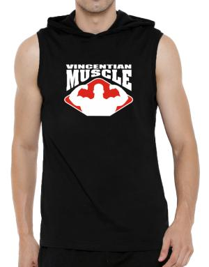 Vincentian Muscle Hooded Sleeveless T-Shirt - Mens