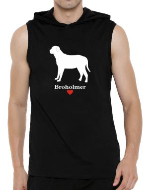 Broholmer love Hooded Sleeveless T-Shirt - Mens