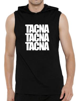 Tacna three words Hooded Sleeveless T-Shirt - Mens