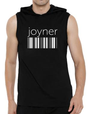 Joyner barcode Hooded Sleeveless T-Shirt - Mens