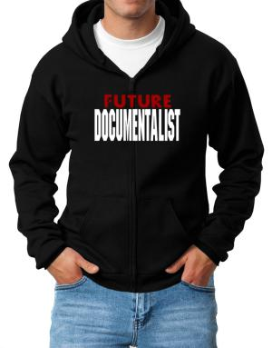 Future Documentalist Zip Hoodie - Mens