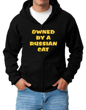 Owned By S Russian Zip Hoodie - Mens